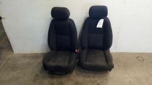 Pair Of Cloth Front Seats From 2012 Chevy Silverado 1500 Pickup 7484058