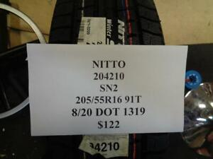 4 New Nitto Sn2 205 55 16 91t Tires 204210 Q1
