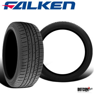 2 X New Falken Azenis Pt722 245 40r17 91v Premium Performance Touring Tires