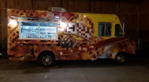 Fully Self contained Gmc Step Van Kitchen Food Truck With Professional Kitchen F