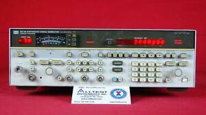 Hp Agilent 8673b 006 008 2938a01554 Synthesized Signal Generator
