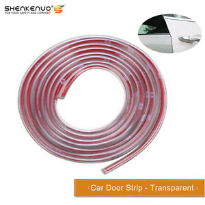 5m Car Door Edge Scratch Anti collision Protector Guard Strip Cover Transparent