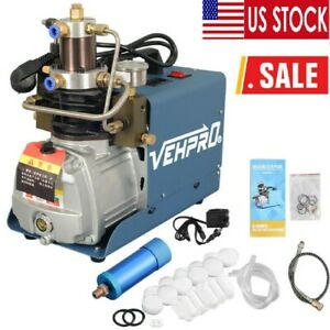 110v 30mpa Air Compressor Pump Pcp Electric 4500psi High Pressure System Rifle