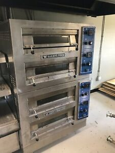 Bakers Pride Ep 2 2828 Hearth Stone Electric Pizza Oven