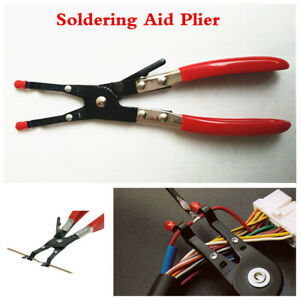 Electrical System Soldering Aid Pliers Hand Weld Tool For Holding 2 Wires Whilst