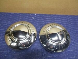 International Harvester Vintage Hubcaps Scout Pickup Travelall Metro Ih Hubcap
