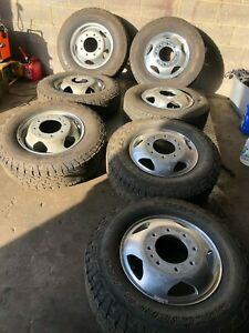 2018 Chevrolet Silverado 3500 Dually 17 Rims Wheel Used
