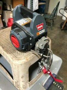 Warn 910500 500 Lb Drill Winch With 30 Ft Wire Rope new