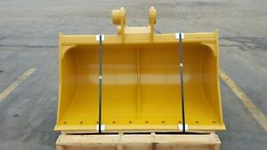 New 60 Ditch Cleaning Bucket For A Caterpillar E120