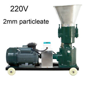 220v Chicken Feed Pellet Mill Machine 2mm Grind Size Young Animals Feed