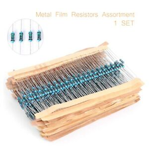 1 4w Resistance 1 Metal Film Resistor Bag 30 Kinds Each 20 Total Kit 600pcs