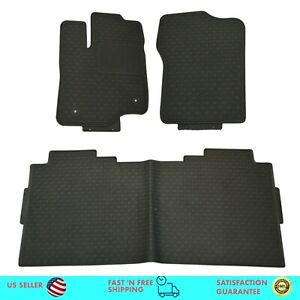 Floor Mats For Ford 2015 2019 F 150 Crew Cab All Season Floor Mats