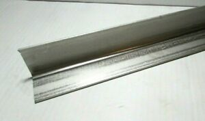 2 X 2 X 1 8 304 Stainless Steel Angle 4 1 2 Long 2 Pieces