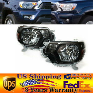 Fit 2012 2013 2014 2015 Toyota Tacoma Pickup Trd Headlights Headlamps Left right