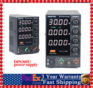 Dc Bench Power Supply Variable 0 30v 0 5a Adjustable Switching Regulated Usa