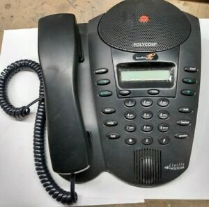 Polycom Soundpoint Pro Se 220 Clority Selling As is Parts Unable To Test