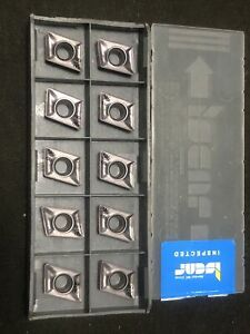 Qty 12 Iscar Xcmt 120408tr Ic908 Carbide Milling Inserts 5603379 Israel