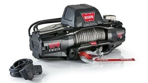 Warn 103255 Vr Evo Series Winch 12 000lb Synthetic Rope Jeep Make Offer