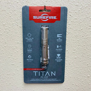 SureFire Titan B Plus Ultra Compact Variable Output LED Flashlight BNIB $99.99