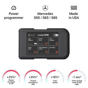 Mercedes S55 S63 S65 Smart Tuning Chip Power Programmer Performance Tuner Obd2