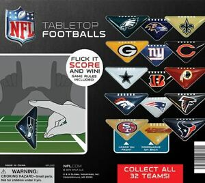 250 Nfl Triangle Tabletop Football Game Pieces In 2 Capsules Vending Machine