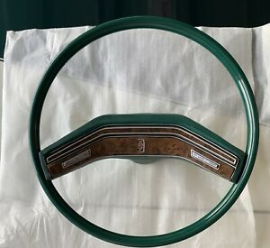 1977 1978 1979 Ford Lincoln Mercury Cougar Thunderbird Steering Wheel Green