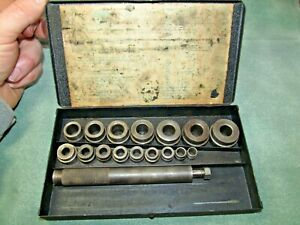 Vintage Beard Drive m all Bushing Driver Partial Set Missing Pieces See Pics