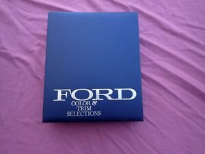 1968 Ford Color And Trim Selection Dealer Album Nice Galaxie Mustang Etc