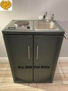 Portable Kitchen Sink Mobile With Cold Water Self Contained Full Combo 2021