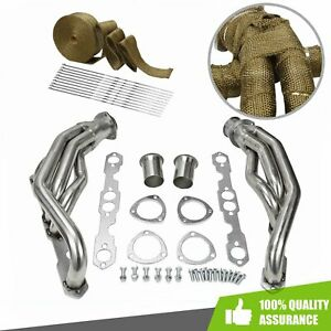 Racing Header Exhaust Manifold Fit 1988 1997 Chevy Gmc 5 0l 305 5 7l 350 V8