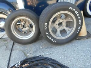 Et Mag Wheels 15 X 10 Ford Mopar Hot Rod Gasser 1941 Willys 1955 Chevy 1932