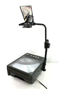 Dukane 5500 Vintage High Intensity Professional Overhead Projector With Case