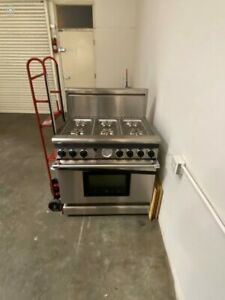 Thermador Gas Range W Electric Oven