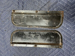 Ford Flathead V8 Radiator Air Flow Panels 1940 60 Hp