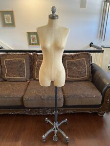 High Quality Female Mannequins Torso W Adjustable Stand