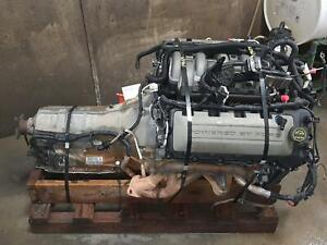 2011 2014 Ford Mustang Engine transmission Liftout 5 0l Vin F 8th Digit 6r80