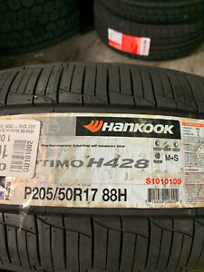 2 New 205 50 17 Hankook Optimo H428 Tires