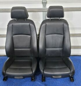 Bmw E82 Coupe Front Rear Seats Black M sport Heated Assembly Set Oem 43k