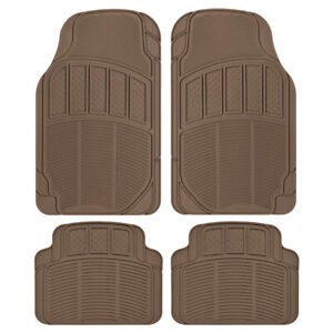 All Weather Car Floor Mats Heavy Duty Choose Between Rubber Or Carpet Style