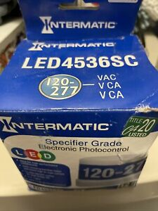 Intermatic Led4536sc Specifier Grade Electronic Photo Control 120 277 Volt New