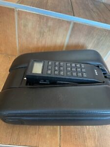 Bmw E38 E38 Rare Leather Armrest With Phone Great Condition Black Leather Oem