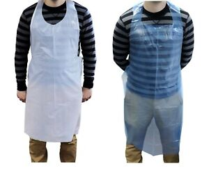 Disposable Apron Cooking Catering Work 28 X 46 Choose Your Color Pack