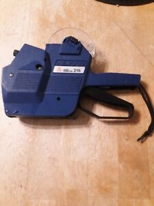 Avery Dennison 216 Two line Retail Pricing Marker Labeler Gun Great Condition