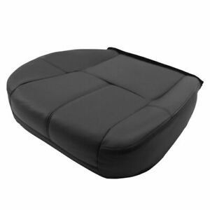 Driver Bottom Leather Seat Cover Fits Chevrolet Silverado 1500 2500 Hd 2007 2013