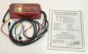 Msd 6a Ignition Box 6200 Multiple Spark Discharge Chevy Ford Mopar Install Guide
