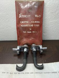 Vintage Snap On Tools Camber Caster Tool Set Wa 25a