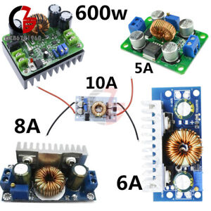 Dc dc Boost Converter Step Up Step Down Power Adjustable Portable Charger 5 15a