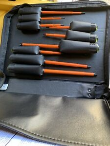 Klein Tools 9 Piece Set 1000v Electrician Set New With Carry Case