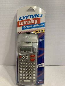 Dymo Letratag Personal Label Maker Printer Tape Handheld Office Personal