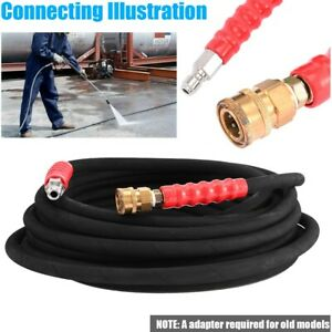 Pressure Washer Hose 3 8inch X 50 4000 Psi With Quick Connects Industrial